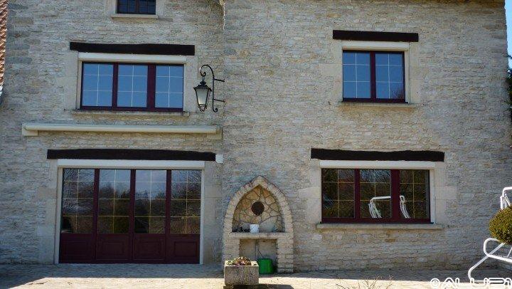 Fenêtres ALU réalisées à Sacquenay