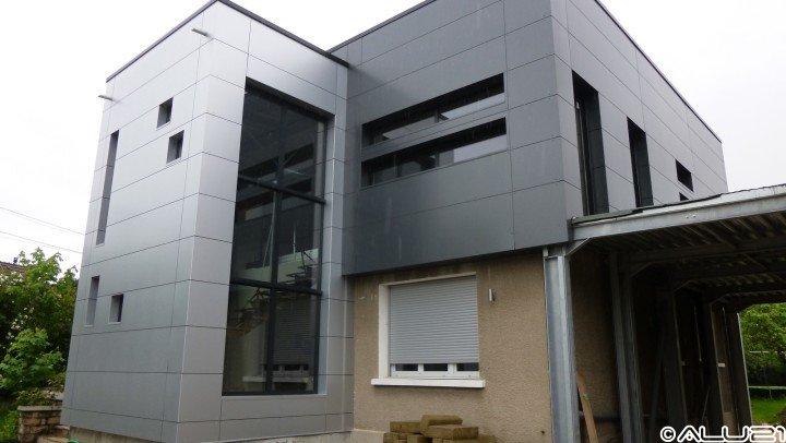 Fenêtres ALU réalisées à Dijon