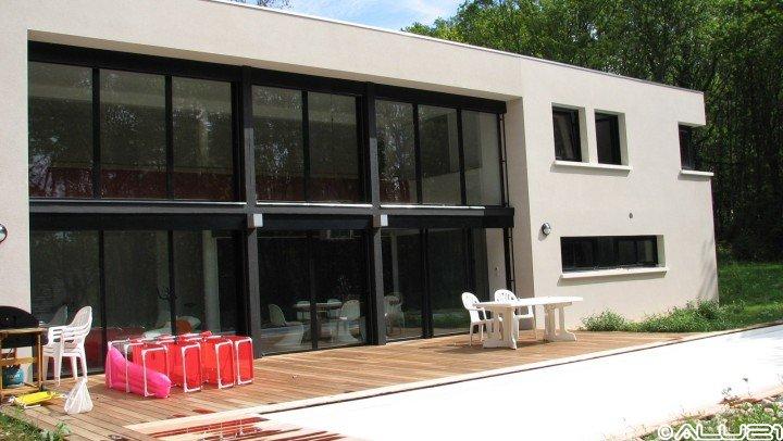 Fenêtres alu réalisées à Asnières les Dijon