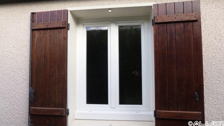 Fenêtre PVC réalisée à Brétigny