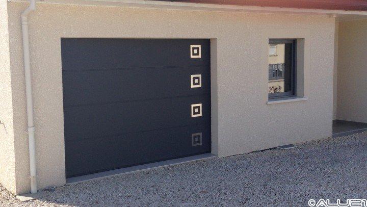 Porte de garage réalisé à Dijon
