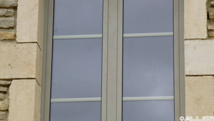 Fenêtres alu réalisées à Is sur tille